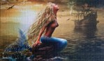 Mermaid and Boat jigsaw puzzles
