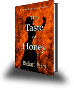 Taste of Honey book cover 3D