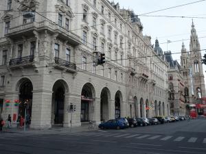 Location of former Cafe Reichsrath