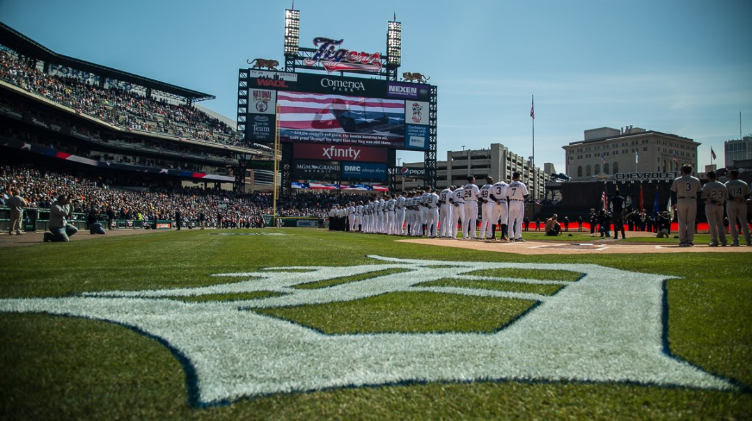 It's Opening Day in Detroit!