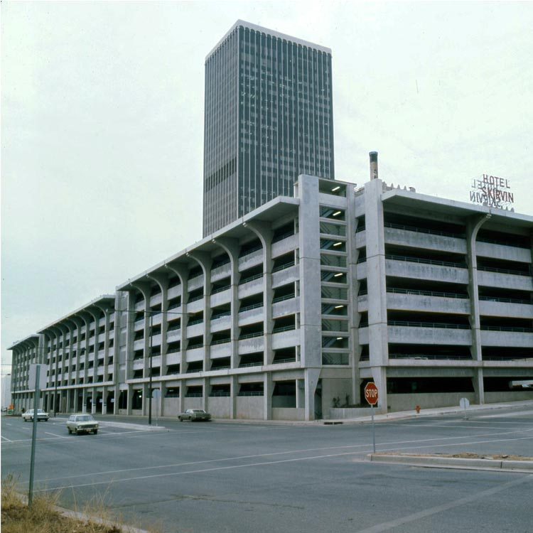 Central Oklahoma Transportation and Parking Authority Garage, Oklahoma City - 1968