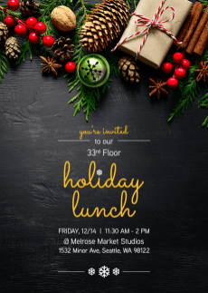 Holiday Lunch Invite
