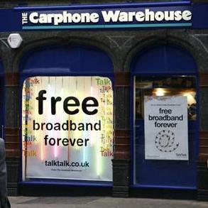 Carphone Warehouse Store Front