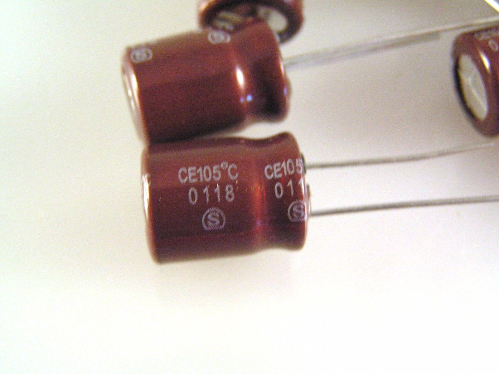Elna RE2-100V221M RE2 220uF 100V 85oC Radial Aluminium Electrolytic Capacitors