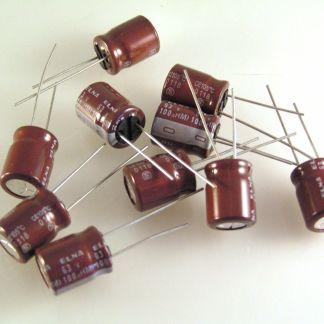 330uF 16V 85*c RE2-16V331M ELNA Radial Electrolytic Capacitor 200 pcs