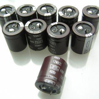 Condensador electrolítico Samwha OL0092a 400V 68uf 85/'C