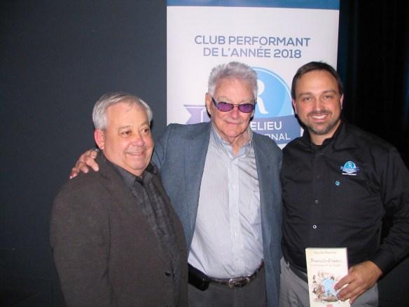 Ghislain Simard Gilles Proulx Carl Mercier