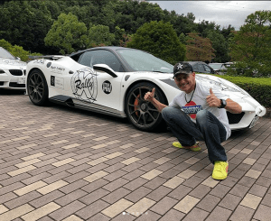 Steve's POV Ferrari