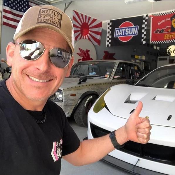 Steve's POV white White Ferrari