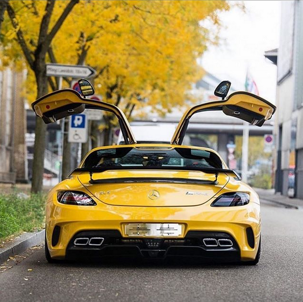 Mercedes AMG SLS by NoteWorthy Exotics on Instagram