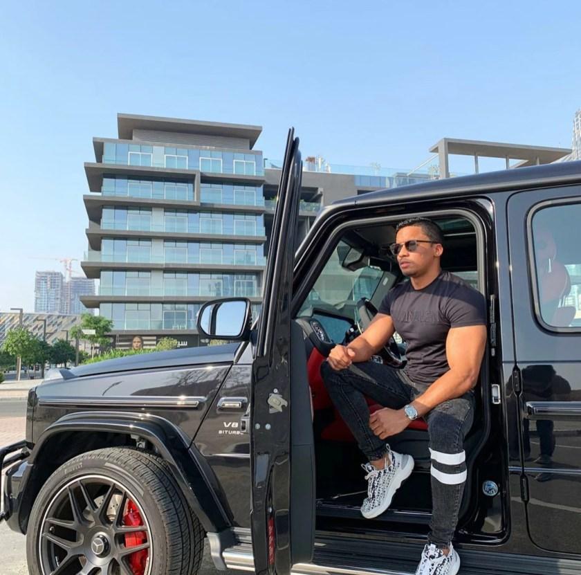 Jorgedian Dihigo Caro With Mercedes G Class