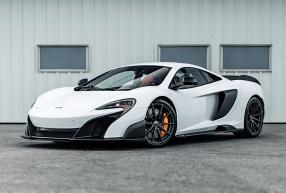 McLaren 675LT silica white