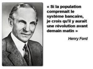 henry ford silapo  pulation comprenait le systeme bancaire