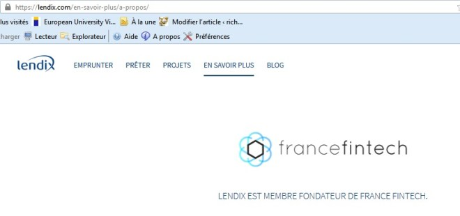 Lendix investment crowdlending 13 france fintech crowdfunding