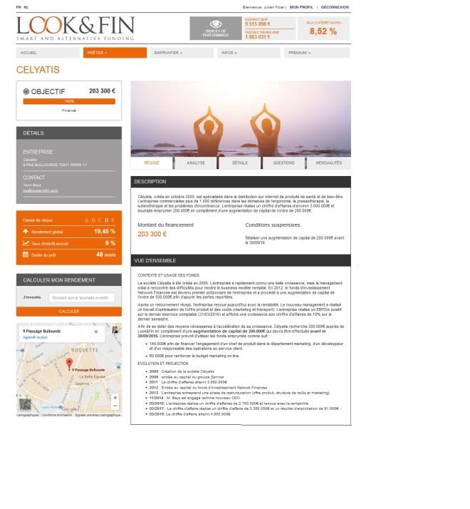 lookandfin looketfin crowdlending de crowdfunding inversión de proyecto muestra belga