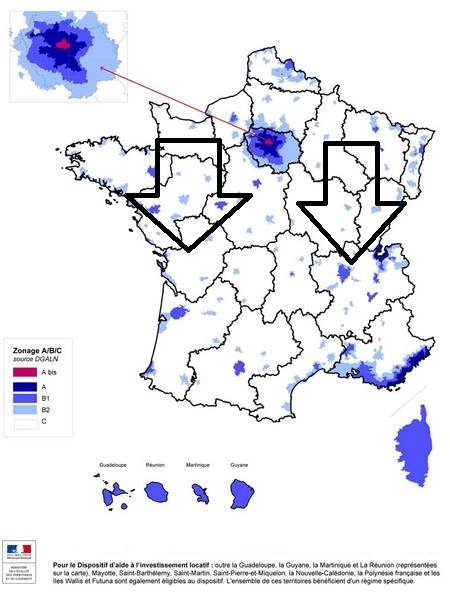 The depopulation of certain areas is a statistical reality according to l´INSEE