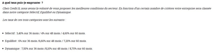 credit.fr investment crowdfunding investment 03 rate