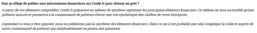 credit.fr investment crowdfunding investment 10 financial information