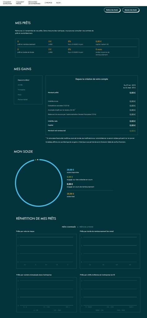lendopolis main menu crowdfunding
