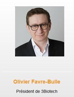 hoolders Olivier Favre - Bulle 3Biotech President