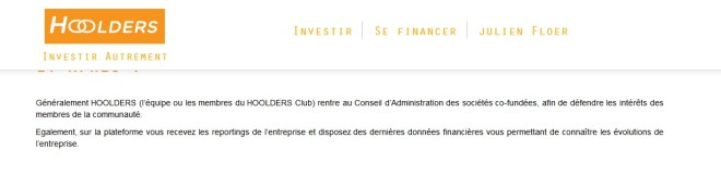 hoolders investissement crowdfunding innovation co-investissement 01