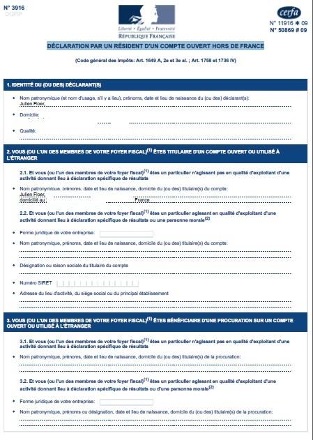 lendix crowdfunding crowdlending Belgian declaration account abroad