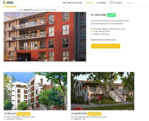 lymo crowdfunding corwdlending immobilier menu projets