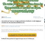 profit 25 arnaque escroquerie ponzi cavalerie ponzi pyramide 03