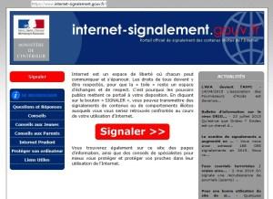 Internet reporting Govt en