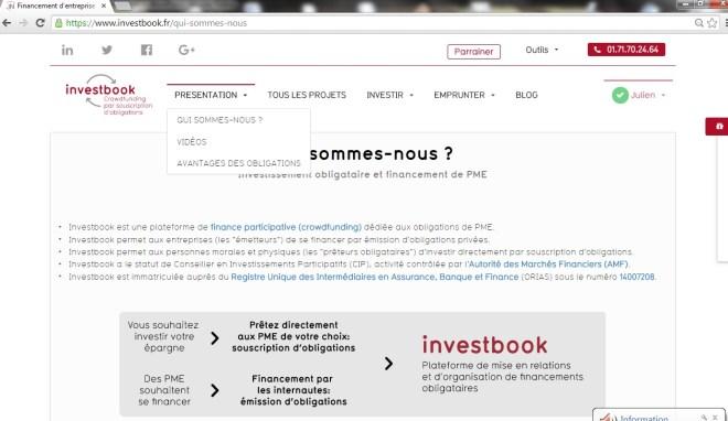 investbook-crowdfunding-crowdlending-obligation-menu-presentation