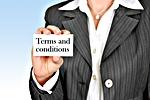 Debt terms and conditions (courtesy of Pixabay.com)