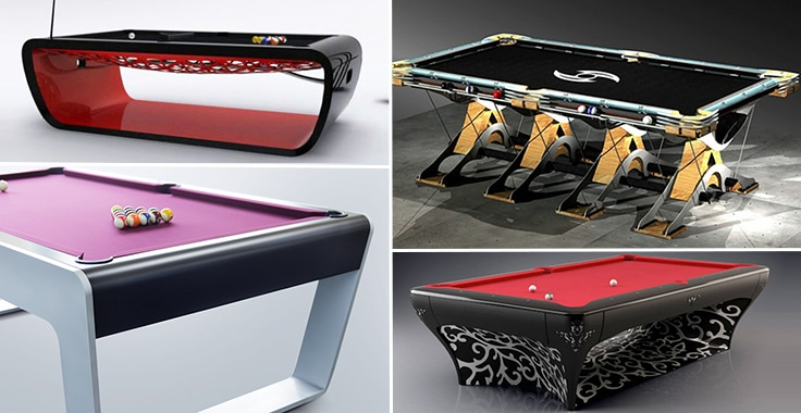 Most Expensive Pool Tables