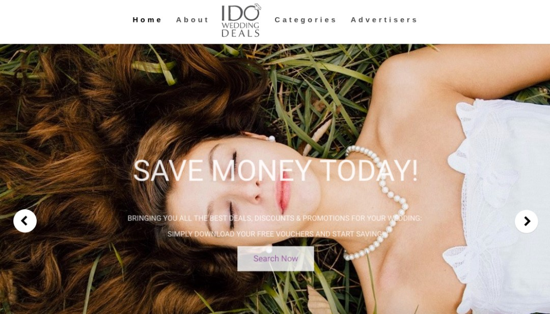 IDoWeddingDeals.com Home Page