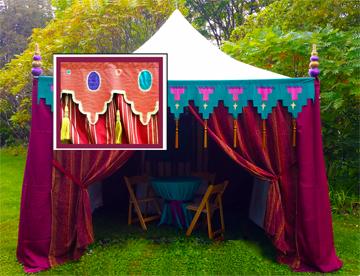 circus tent & inset