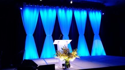 backdrop blue