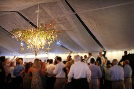 chandelier tent