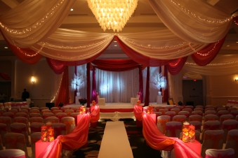 mandap and draping