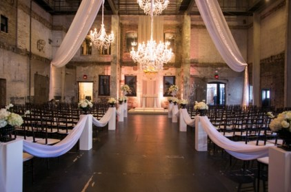 wedding aisle nicole&will