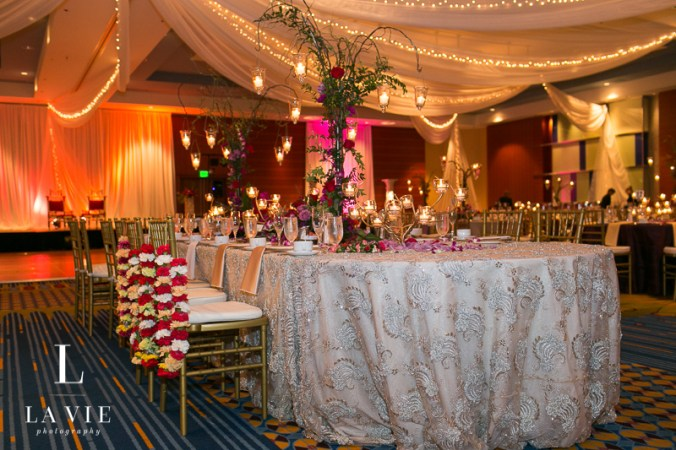 centerpiece and ceremonial garlands
