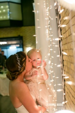 Draping, Lights, and Toddler