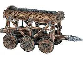 battering ram on wheels