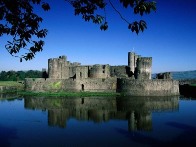 caerphilly-castle-moat