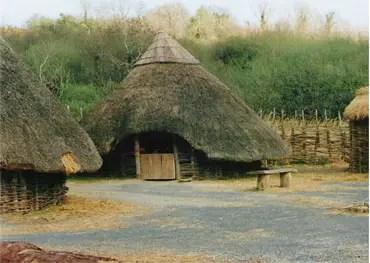 medieval peasants house
