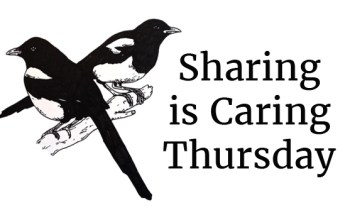 Sharing is Caring Thursday #10 investing in your writing career, the influences of women, writing too much, and vital elements of a story.