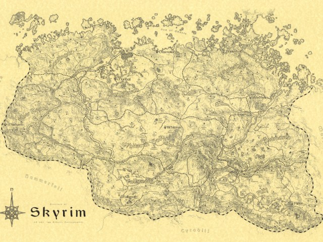 [Guest Post] Creating a Fantasy Map