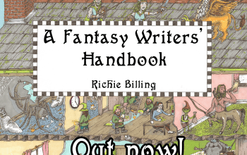 'A Fantasy Writers' Handbook' Paperback Out Now!