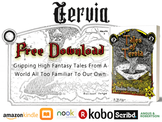 New Free Book: Tales of Tervia – Gripping High Fantasy