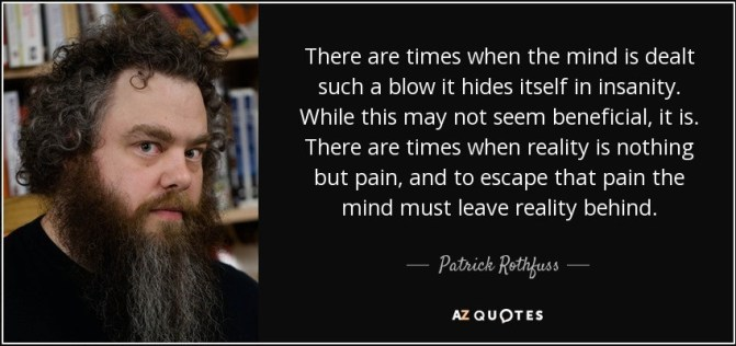Patrick Rothfuss - quote