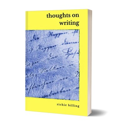 thoughts on writing cover