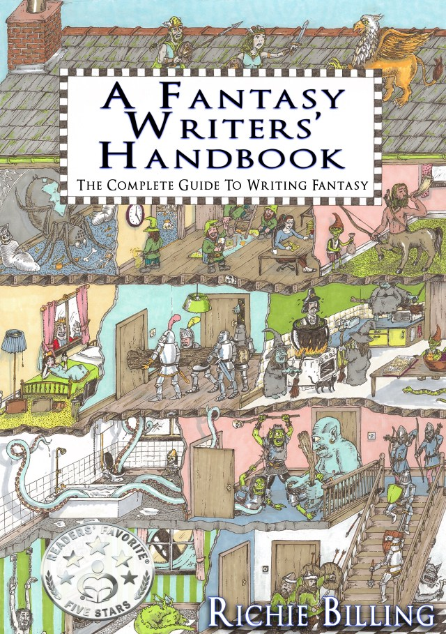 a fantasy writers' handbook cover